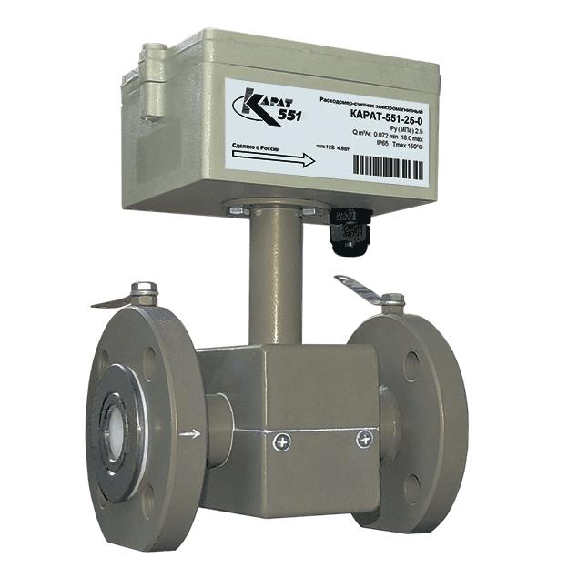 КАРАТ-551 расходомер-счетчик электромагнитный