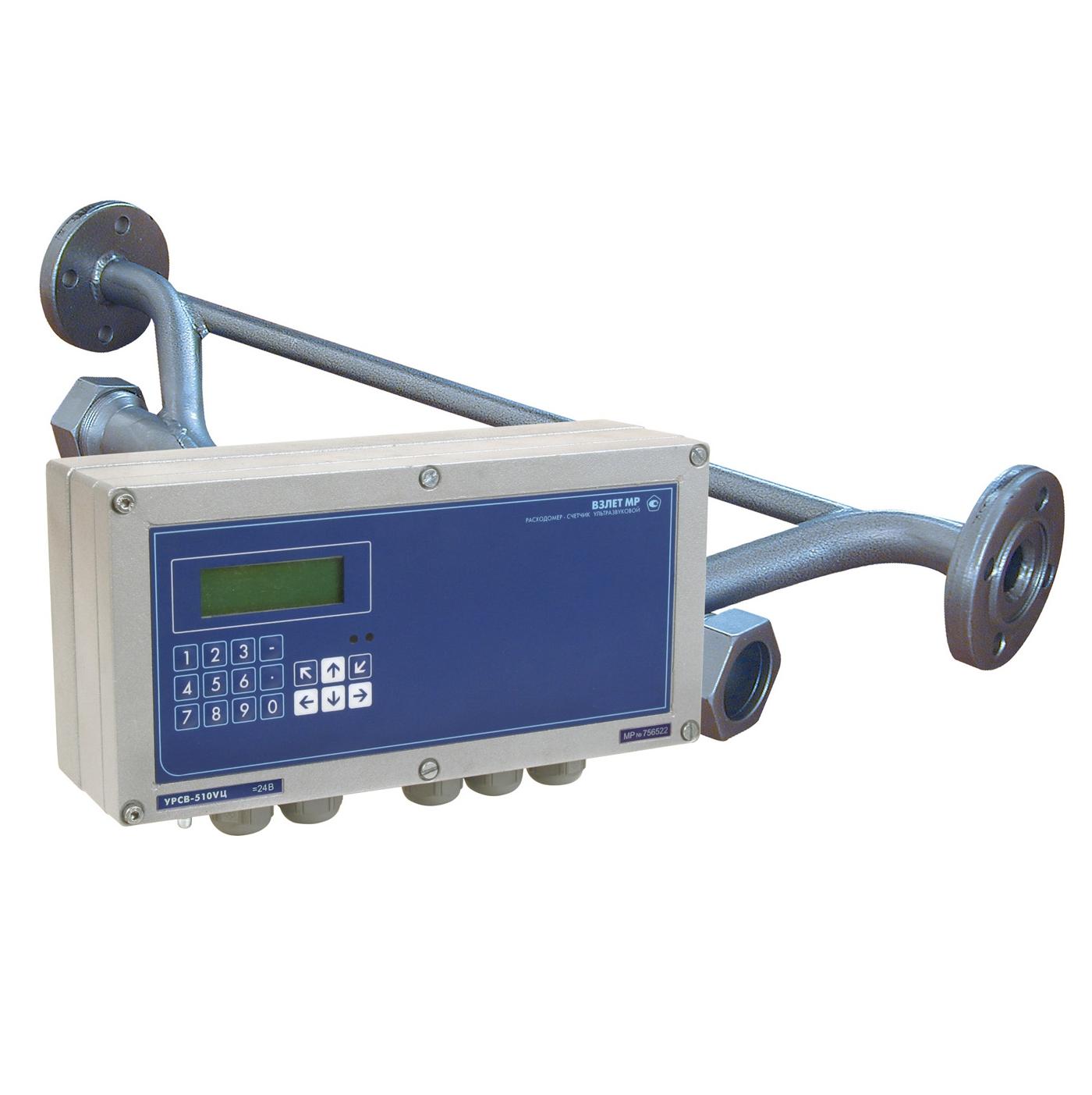 ВЗЛЕТ УРСВ-510V Ц расходомер-счетчик ультразвуковой для вязких жидкостей цифровой