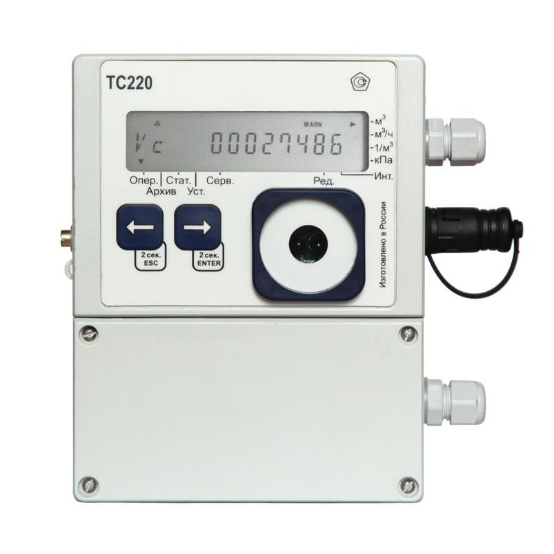 ТС 220 корректор объема газа