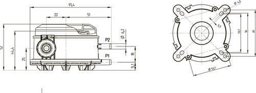 Габаритные размеры-1 реле DPS BD