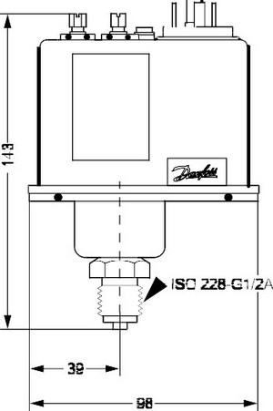 Размеры реле BCP-1