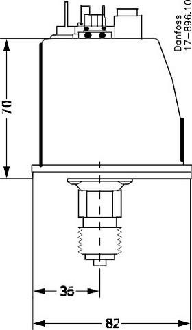 Размеры-2 реле давления BCP