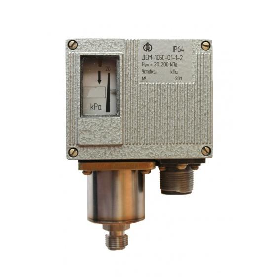 Датчик-реле давления ДЕМ-105С