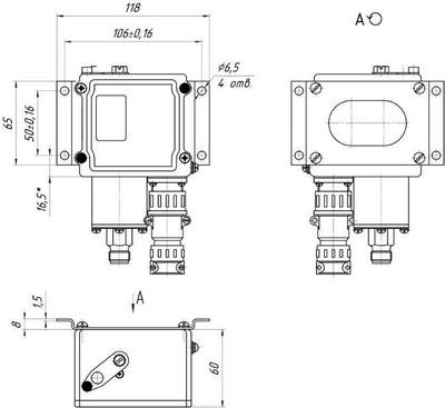 Размеры ДЭМ-102С с комплектом К1