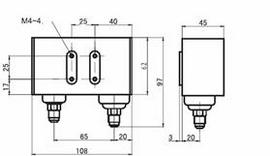Реле давления РД-306 сдвоенное (двухблочное)