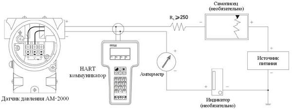 Подключение датчика АМ-2000
