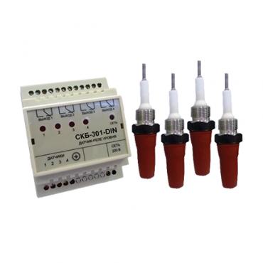 СКБ-301-DIN регулятор-сигнализатор
