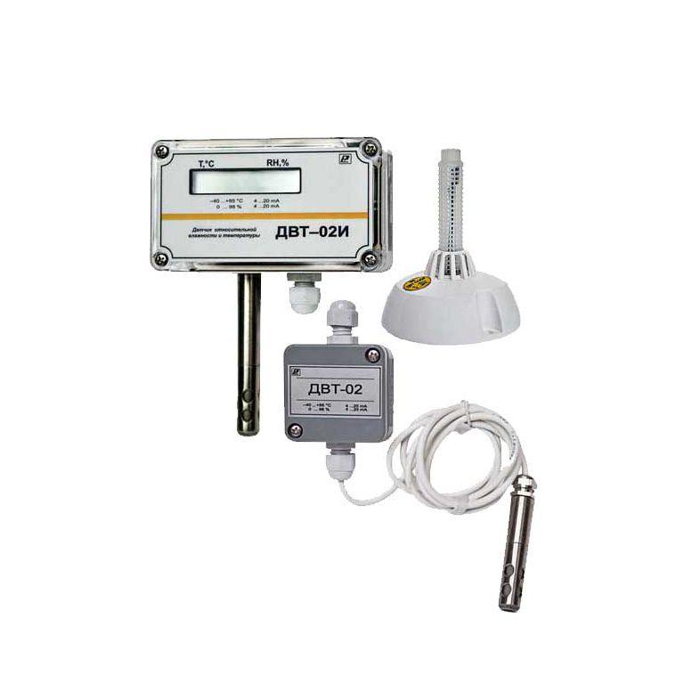 ДВТ-02М датчик влажности и температуры микропроцессорный
