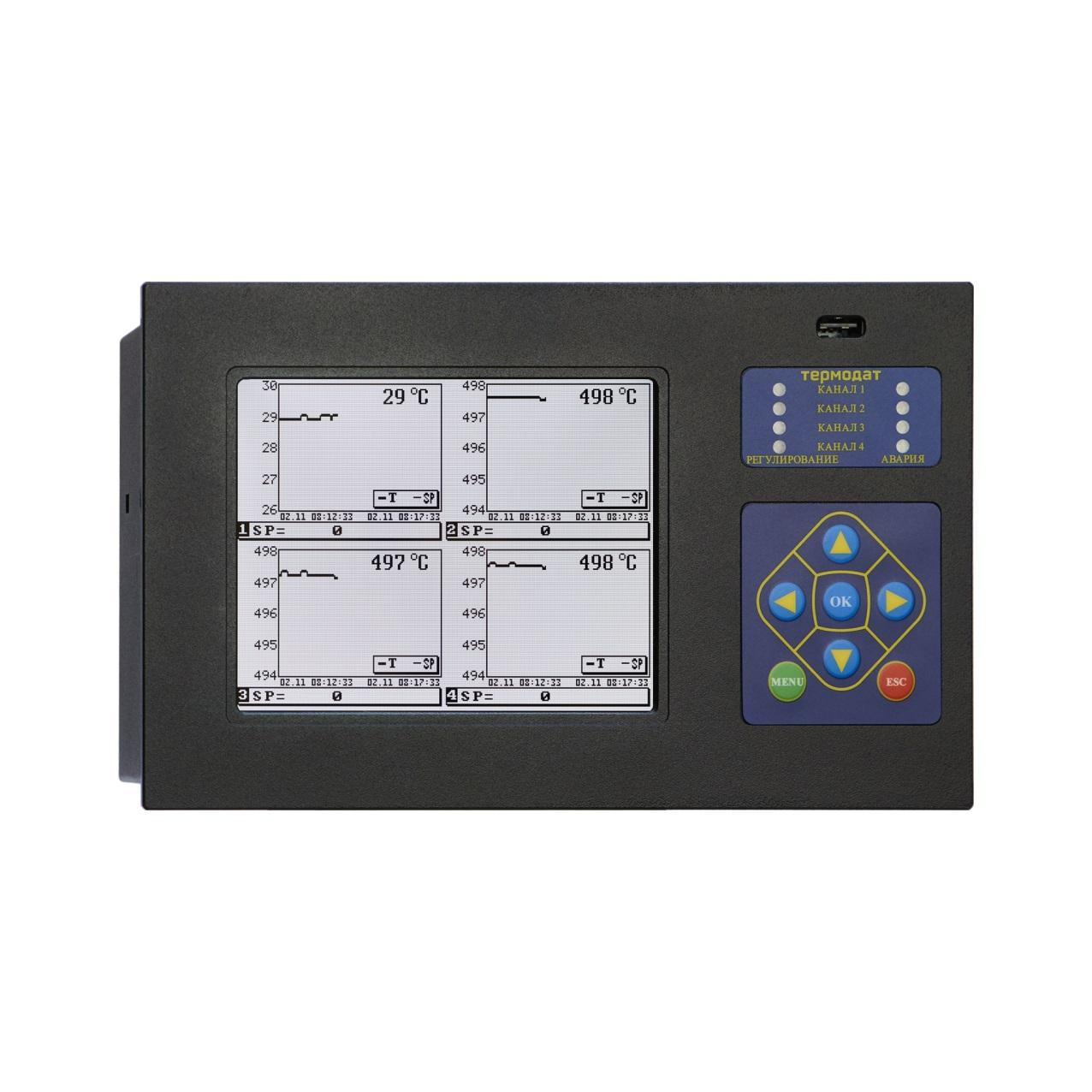Регулятор температуры Термодат-19, -19Е6, -19М6 (электронный самописец)