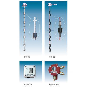 ПМП-119, ПМП-120 датчики-индикаторы уровня