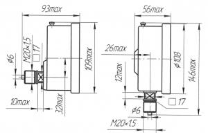 манометр ДМ 8008-ВУ