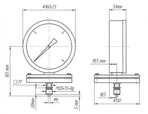 ДМ8009-Кс исполнения I