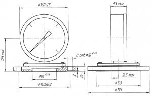 ДМ8009-Кс исполнения II