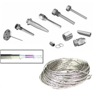 Защитные гильзы, бобышки, провод и кабель