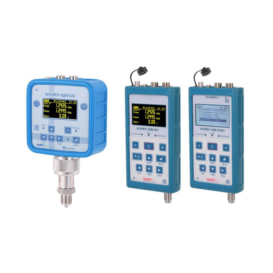КДМ-020, КДМ-030 калибраторы давления малогабаритные