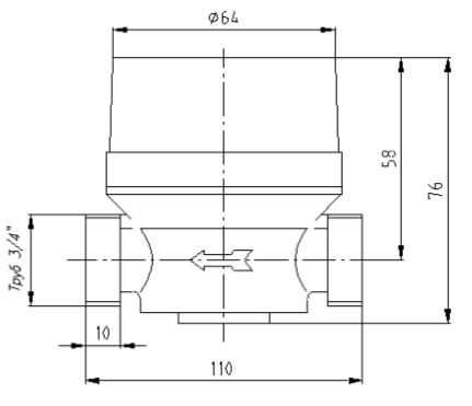 Электронное реле протока жидкости РПЖ–24FT