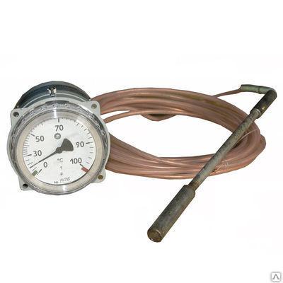 ТКП, ТГП-100Эк-М1 термометр манометрический газовый (конденсационный)