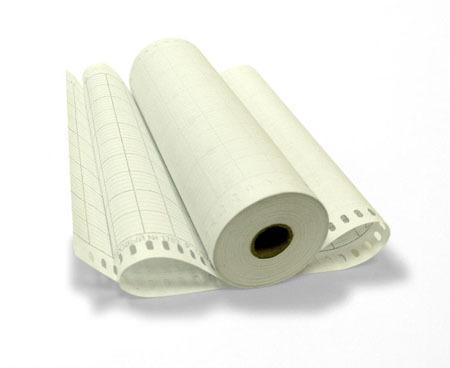 Бумага диаграммная рулонная