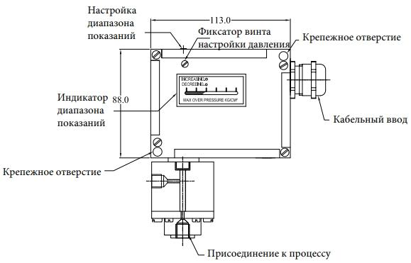 РДД-5 датчик-реле дифференциального (перепада, разности) давления