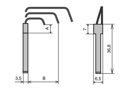 УПС-15 узлы пишущие специальные капиллярного типа