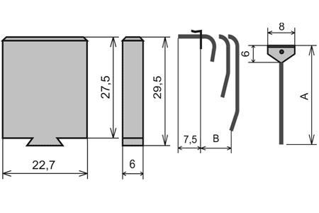 УПС-20 узлы пишущие специальные капиллярного типа