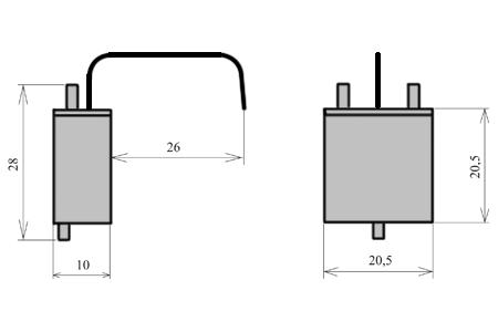 УПС-34 узлы пишущие специальные капиллярного типа