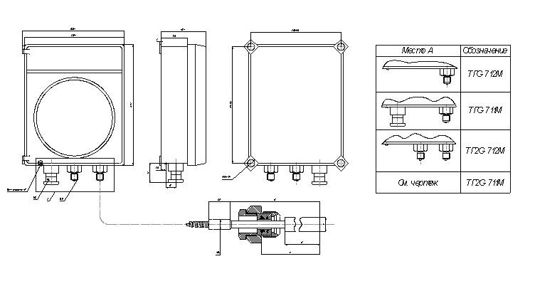 Термометры самопишущие ТГС-711М, ТГС-712М