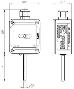 Преобразователь температуры ПТ-200
