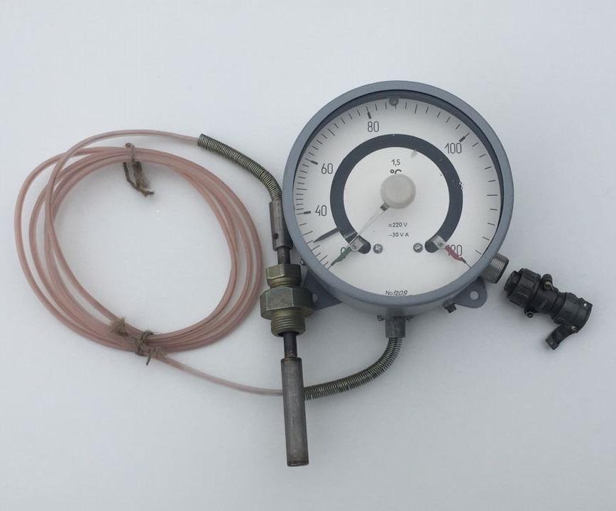 Термометры манометрические ТКП, ТГП-160Сг сигнализирующие