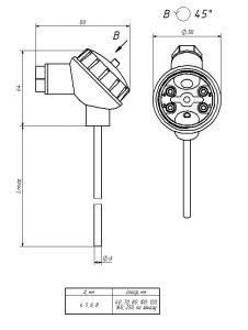 Термопреобразователь ТСП-101