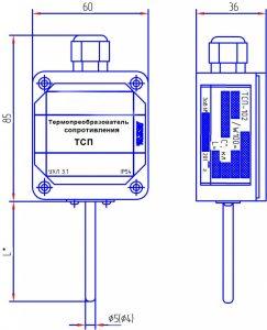 Термопреобразователь ТСП-103