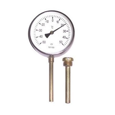 Термометры ТБП-63,-100,-160 резьбовые и безрезьбовые биметаллические