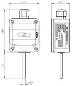 Термопреобразователи сопротивления ТС-100