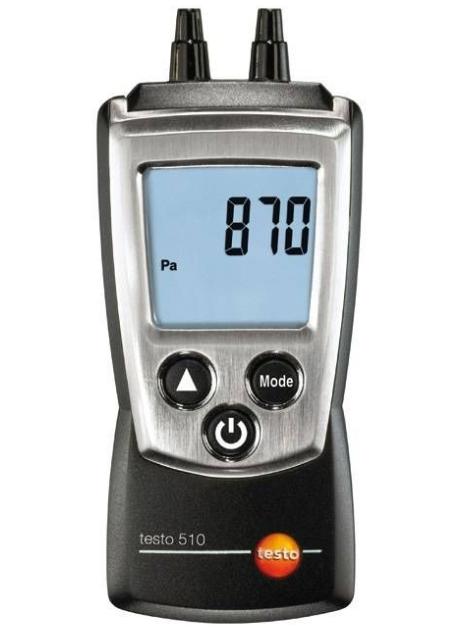 Манометр дифференциальный Testo 510 цифровой портативный