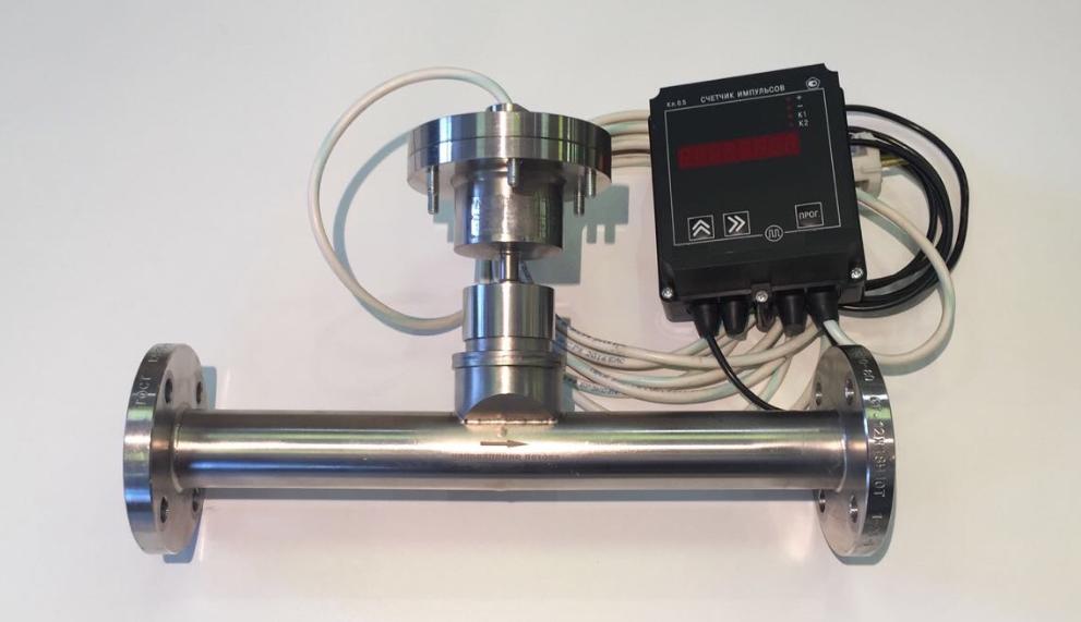 Расходомер струйный РС-01-01В универсальный