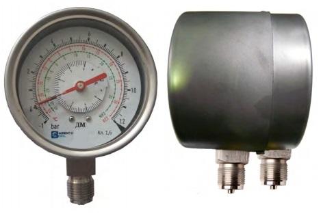 ДМ-100/160P-2 дифманометр с 2 измерительными системами для агрессивных сред
