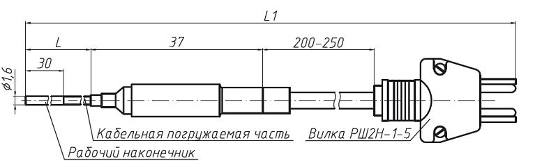 Чертеж ТСП-ОМ