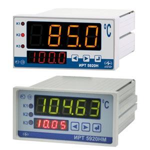Измерители-регуляторы технологические ИРТ-5920(5920Н, 5920НМ), 5922