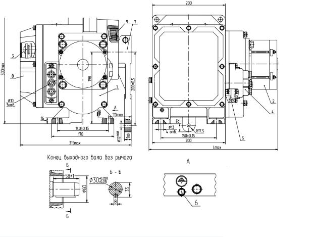 МЭО-250 схема устройства