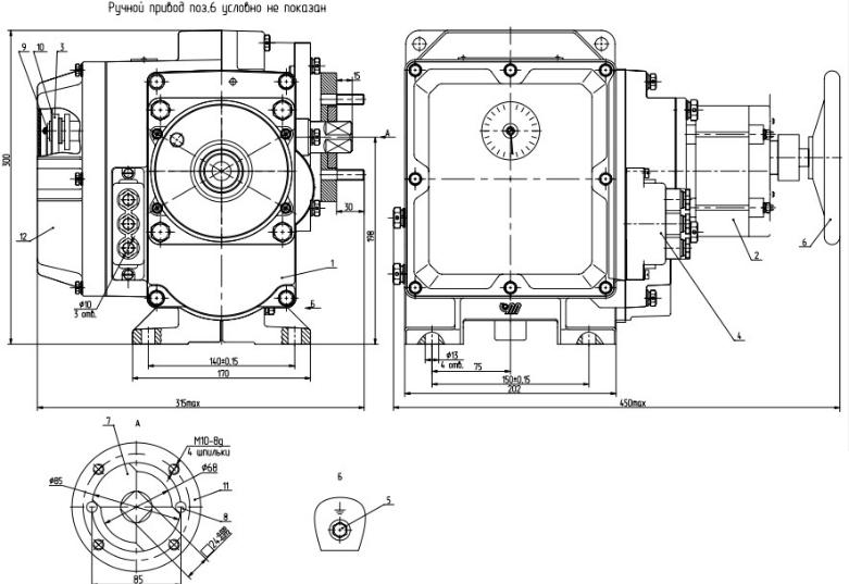 МЭОФ-250 схема устройства