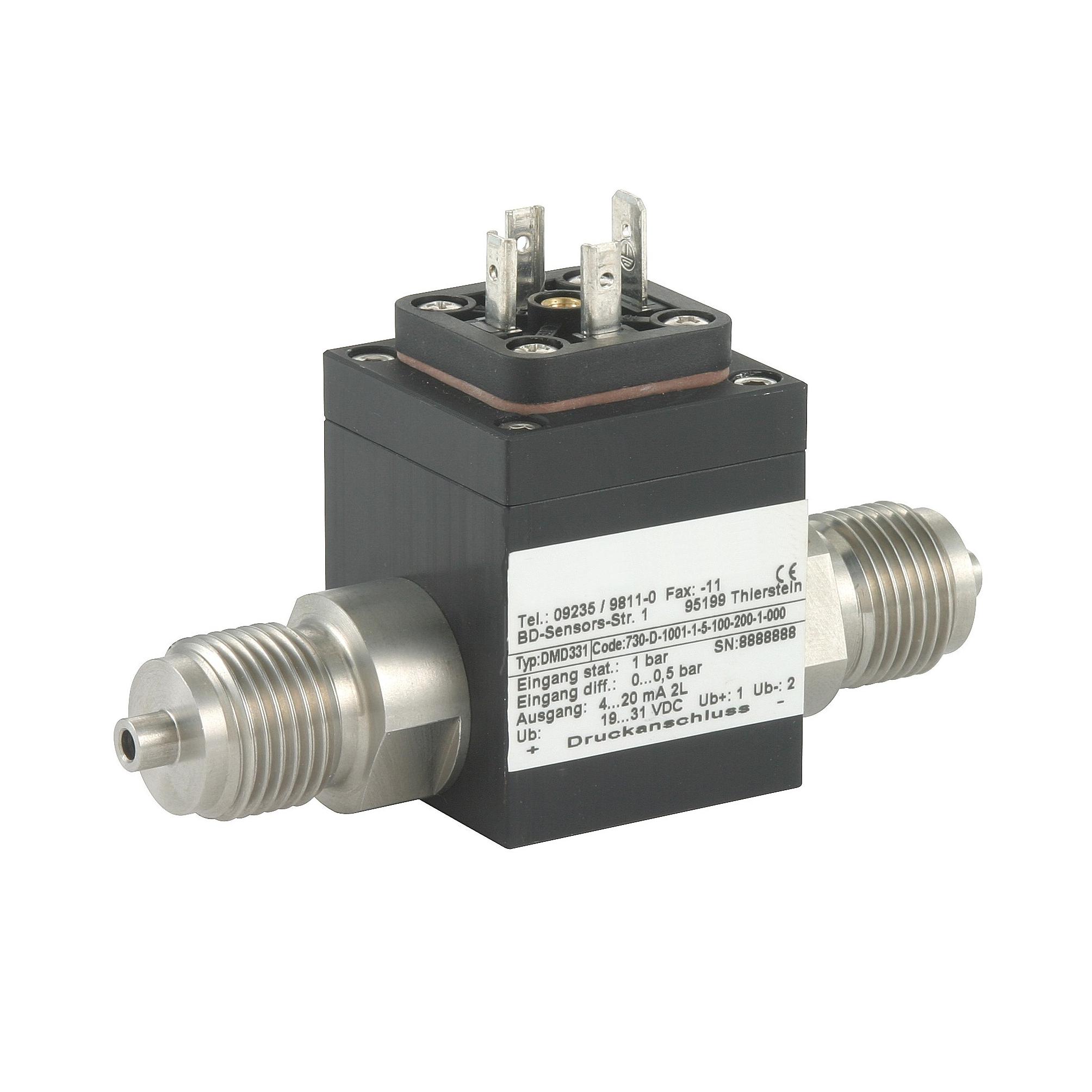 DMD-331 датчик дифференциального давления (перепада)