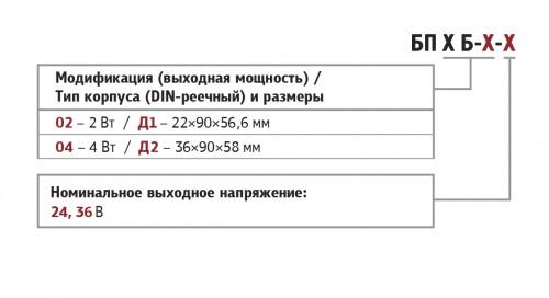 Форма. Блоки питания БП02,04
