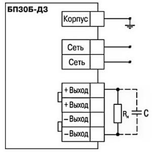 Схема. Блок питания БП30-C