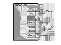 Схема. Блок питания БП-30