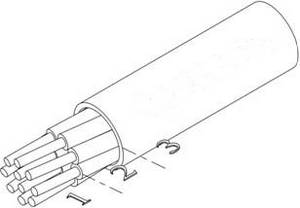 Кабель монтажный термоэлектродный КМТ для термопар ХА, ХК, ЖК