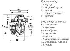 КФРД-10 чертеж