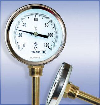 термометры биметаллические ТБ-63, -80, -100