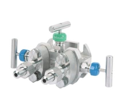 Клапанный блок БКН-3,-2,-5-вентильный