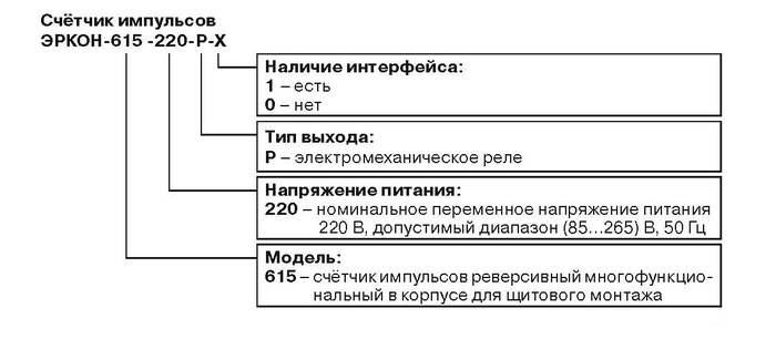 Форма заказа ЭРКОН-615