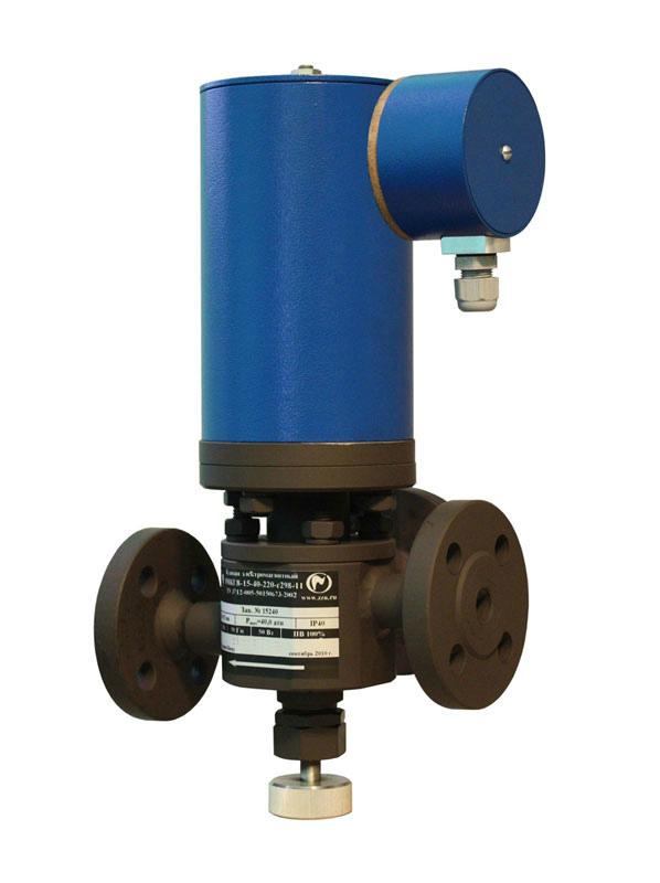 Электромагнитный клапан ЭМКГ8 для пиролизных газов.